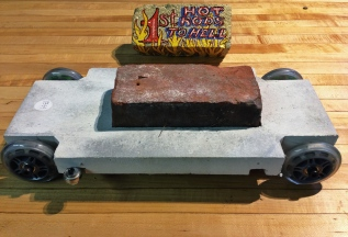 concrete and a brick, Brick's winning brick racer