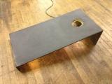 concrete cornhole board in gfrc